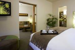 Suites et salles d'invité dans un hôtel de boutique Photographie stock libre de droits