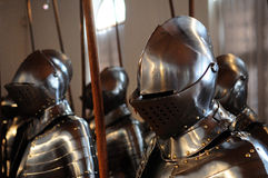 Suits of Armor Stock Image