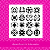 Suits for branding logo or patterns. Abstract elements for desig. N ideas. Stylish creative geometric vector signs. Basic form templates for background and Stock Photography