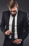Suits complete the man Royalty Free Stock Photography