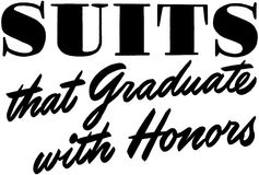 Suits That Graduate Stock Photos