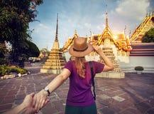 Suivez-moi à Bangkok Photographie stock