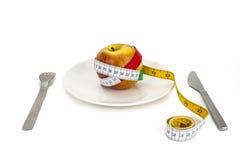 Suivez un régime la nourriture Image stock