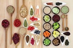 Suivez un régime la nourriture Photos stock