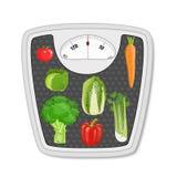 Suivez un régime la nourriture Suivre un régime et nutrition Photos libres de droits