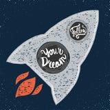 Suivez votre rêve illustration de vecteur