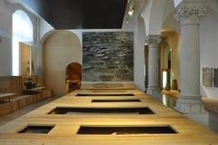 Suiza: exposición en el Museo Nacional suizo en ricos del ¼ de ZÃ fotografía de archivo libre de regalías