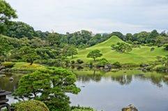 Suizenji庭院在熊本 库存图片