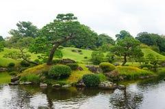 Suizenji Garden in Kumamoto Stock Photography
