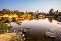 Suizenji-Park Lizenzfreies Stockbild