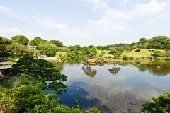 Suizenju Koen Lake at Kumamoto Royalty Free Stock Photos