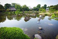 Suizenju Koen Lake at Kumamoto Stock Images