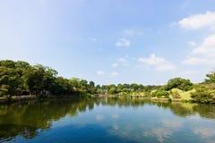 Suizenju Koen Lake at Kumamoto Royalty Free Stock Photography