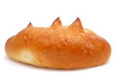 Suizo espanhol do bollo, um bolo frito com açúcar Foto de Stock Royalty Free