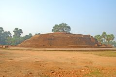 Sujata Stupa在菩提伽耶,印度 免版税库存图片