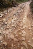 Sujeira e estrada da pedra Imagens de Stock