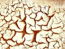 Sujeira rachada Imagem de Stock