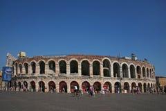 Sujetador de la plaza, Verona, Italia Imagen de archivo