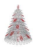 Sujetador del árbol de navidad Foto de archivo libre de regalías