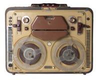 Sujetar con cinta adhesiva-registrador viejo Fotografía de archivo libre de regalías