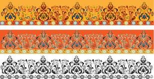 Sujete con cinta adhesiva el ornamental Imagen de archivo