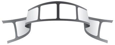 Sujete con cinta adhesiva la insignia Imagenes de archivo
