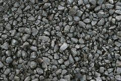 Sujo, fino, o cinza esmagou a pedra Imagem de Stock