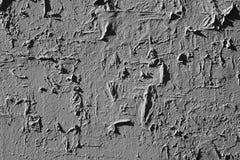 Sujo, riscado, superfície da parede do grunge, foto preto e branco Imagens de Stock Royalty Free
