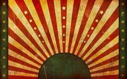Sujo, velho, projeto gráfico da bandeira de Grunge ilustração do vetor