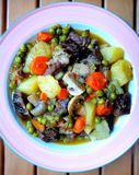 Sukaldi. Typical Basque country stew. Royalty Free Stock Photo