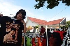 Sukarno slott royaltyfri foto