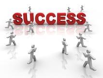 sukces royalty ilustracja