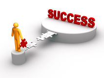 sukces ilustracja wektor