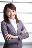 Sukces biznesowa kobieta fotografia stock