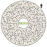 sukces drogowy ilustracja wektor