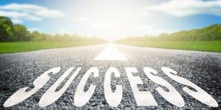 sukces drogowy obraz stock