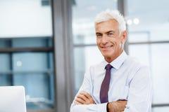Sukces i profesjonalizm w osobie zdjęcia stock