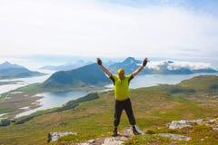 Sukces i zdrowy stylu życia pojęcie Fotografia Royalty Free