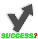 Sukces jest twój sposobem Obrazy Stock