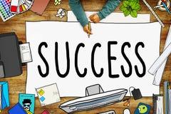 Sukces misi motywaci Turniejowy Wygrany pojęcie Obrazy Royalty Free