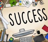Sukces misi motywaci Turniejowy Wygrany pojęcie Zdjęcia Stock