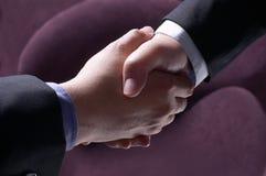 sukces partnerstwa Obraz Royalty Free