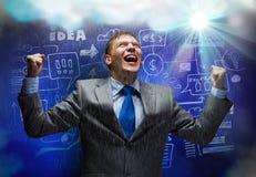 Sukces w biznesie Zdjęcia Stock