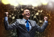 Sukces w biznesie Zdjęcie Stock