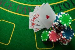 sukces w uprawiać hazard zdjęcia royalty free