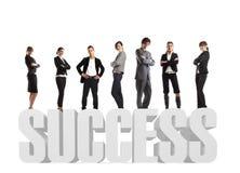 sukces zespołu marzeń Fotografia Royalty Free
