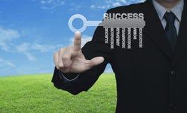 Sukcesu biznesu pojęcie Obraz Royalty Free