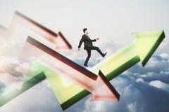 Sukcesu i przyrosta pojęcie Zdjęcia Stock