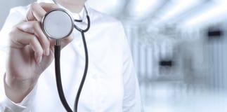Sukcesu lekarza medycyny mądrze działanie Obraz Stock