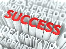 Sukcesu pojęcie. ilustracji